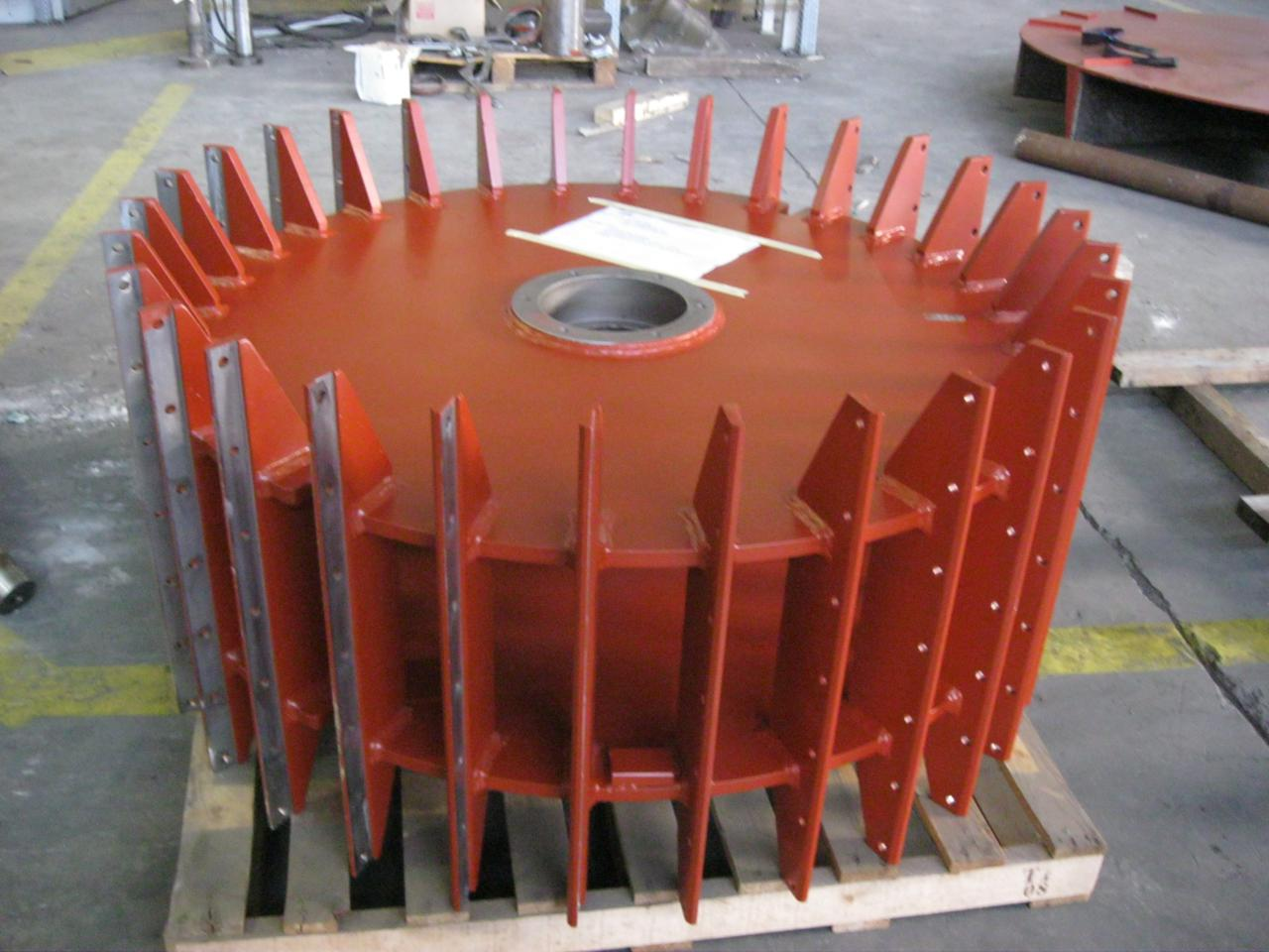 Paper Mill Parts : Durox srl wood blades mill regeneration of spare parts
